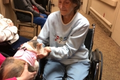 Kali-Ma the Cat at Medilodge Nursing Home